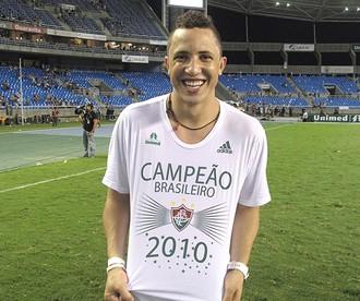 Diogo Fluminense campeão (Foto: Cahê Mota / Globoesporte.com)