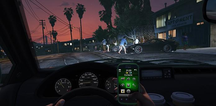 Ligações repetidas irritam os personagens do jogo (Foto: Divulgação/Rockstar)