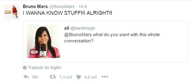 Bruno Mars (Foto: Reprodução / Twitter)