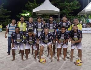 Alagoano de Beach Soccer  (Foto: Reprodução/ Falabs)