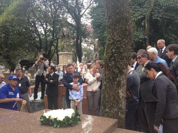 Família Ruy Mesquita (Foto: Nathália Duarte/G1)