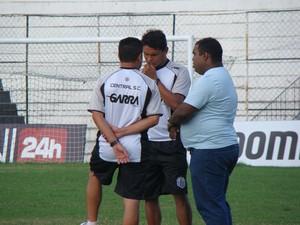 Humberto Santos Central (Foto: André Vinícius / GloboEsporte.com)