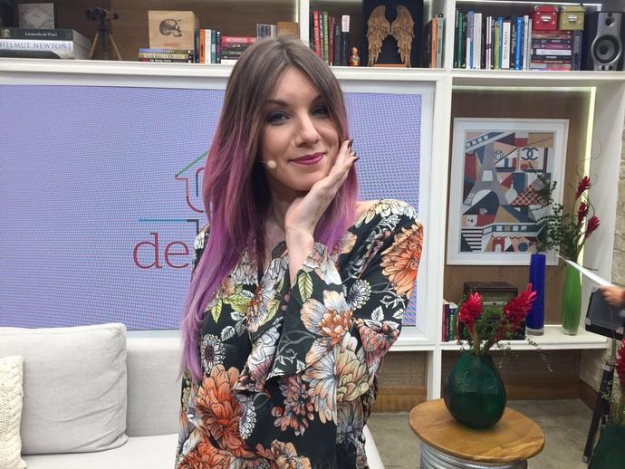 """MariMoon sobre não maquiagem: """"O importante é se divertir e se sentir segura""""  (Foto: Priscilla Massena/Gshow)"""