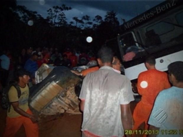 acidente vereador transamazônica (Foto: Reprodução/TV Liberal)