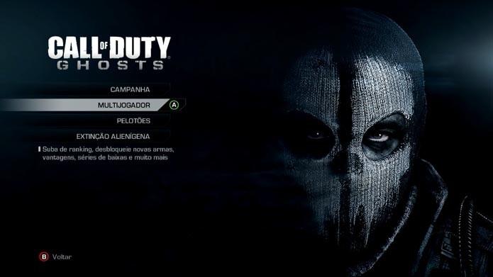Call of Duty Ghosts: como criar e editar classes no game (Foto: Reprodução/Murilo Molina)