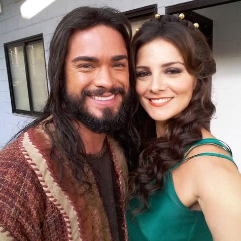 Sidney Sampaio e Carolina Chalita (Foto: Divulgação)