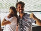 Felipe Andreoli posta foto com a esposa Rafa Brites e o filho Rocco