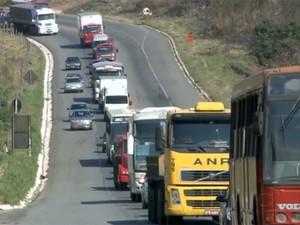 Edital para obras de duplicação da BR-381 é suspenso (Foto: Reprodução/TV Globo)