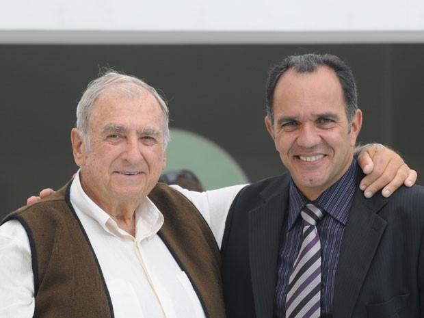Elias Gleizer e o parceiro Humerto Martins (Foto: TV Globo)
