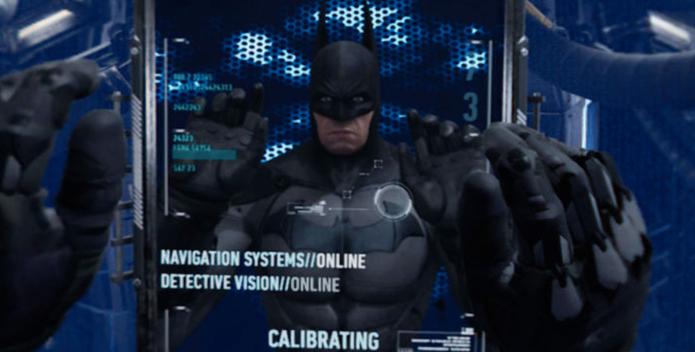 Batman Arkham VR te coloca para ser o herói (Foto: Divulgação/Warner)