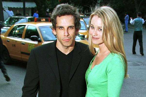Ben Stiller e Christine Taylor, casados desde maio de 2000. (Foto: Getty Images)