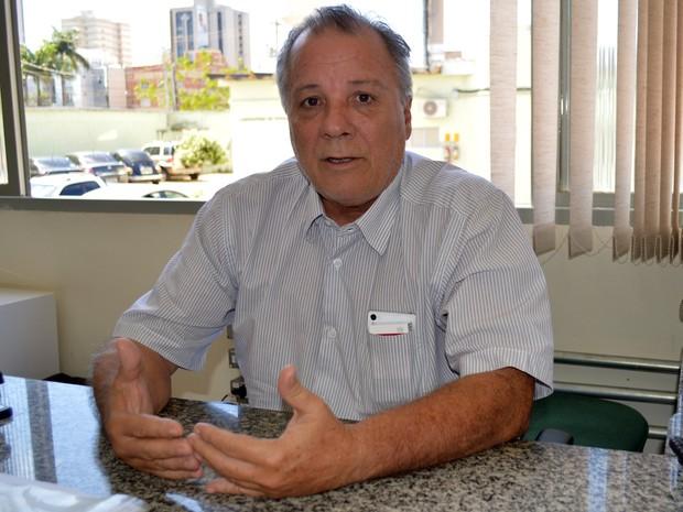 José Nilton Botelho, chefe do Serviço de Inspeção de Produtos de Origem Animal em Mato Grosso do Sul (Foto: Anderson Viegas/Do G1 MS)