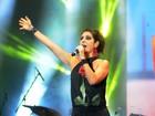 Negra Li, Loroza e Fernanda Abreu cantam Tim e Jorge Ben Jor no DF
