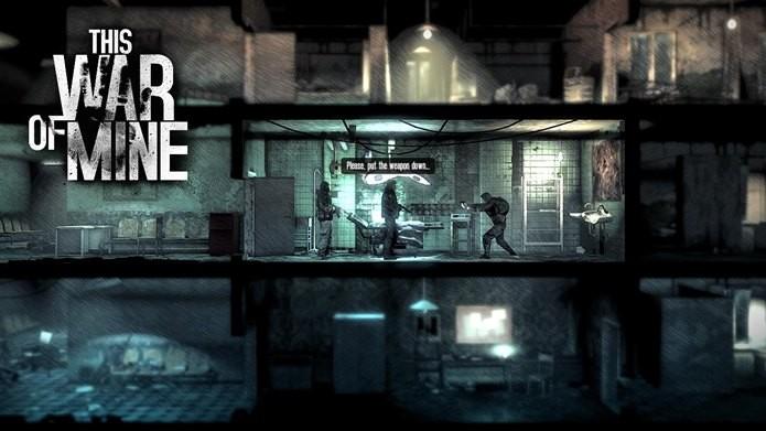 Jogo de sobrevivência e estratégia possui temática de guerra (Foto: Divulgação / 11 bit studios)