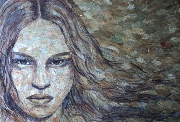 Luis Quispe já fez mais de 300 obras com a folha de coca (Foto: Reprodução/Facebook/Luis Alberto Quispe)
