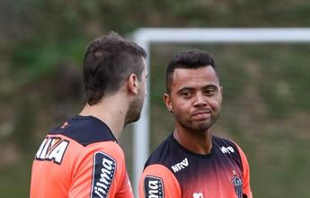 Rafael Carioca tem edema na coxa,  e Carlos César deve substituir Rocha
