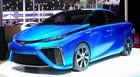 Toyota mostra carro movido a hidrogênio (Alan Morici/G1)