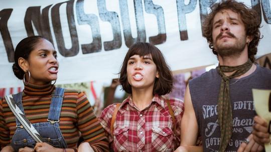Cátia, Maria e Leon seguem engajados na luta pela liberdade