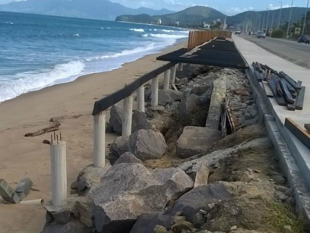 Prefeitura informou que vai reforçar apoios (Foto: Adélia Duarte/Arquivo Pessoal)
