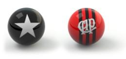 Guia da rodada 35 - Botafogo x Atlético-PR (Foto: Editoria de Arte)