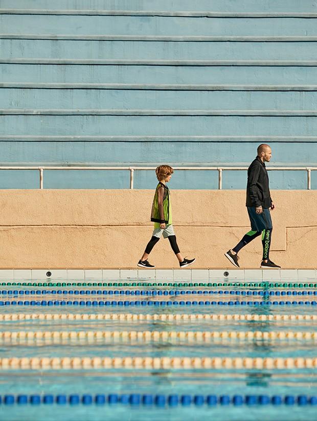 Looks esportivos para filhos e pais crescer crescer for Piscina infantil decathlon