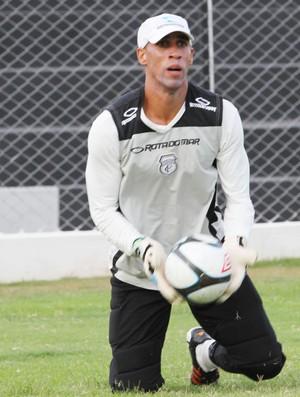Gilberto, goleiro do Treze (Foto: Magnus Menezes / Jornal da Paraíba)