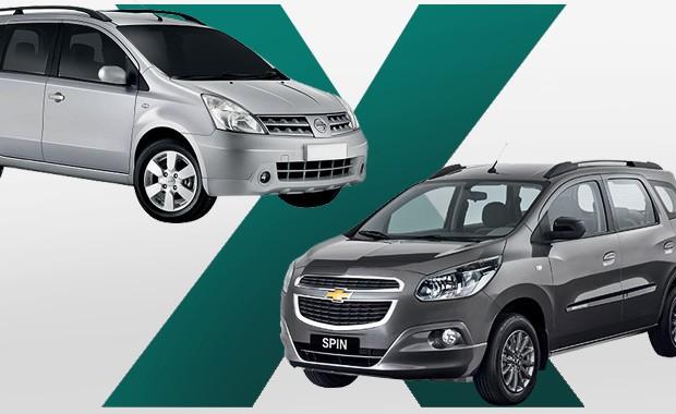 Chevrolet Spin Ou Nissan Grand Livina Qual Comprar Auto Esporte