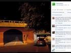 Para evitar acidente, prefeitura apaga desenho de túnel em 3D feito em rua