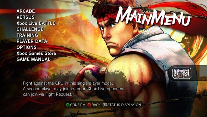 Ultra Street Fighter IV: como editar o seu perfil online de jogador (Foto: Reprodução/Murilo Molina)