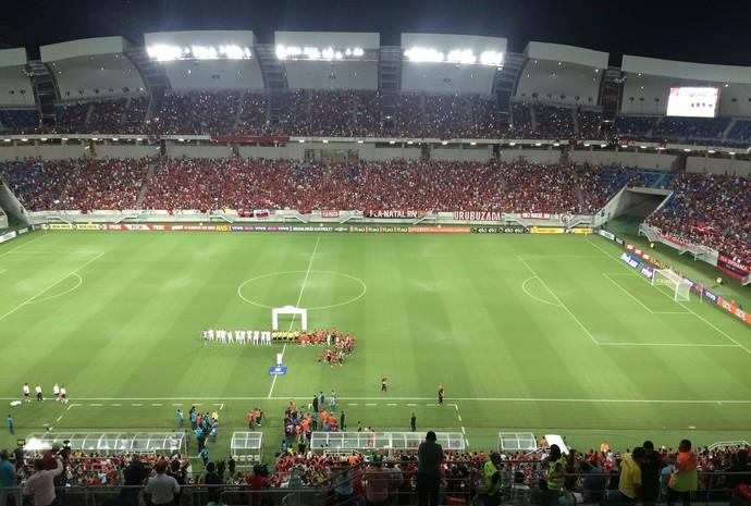 Flamengo x Avaí Arena das Dunas (Foto: Klênyo Galvão/GloboEsporte.com)