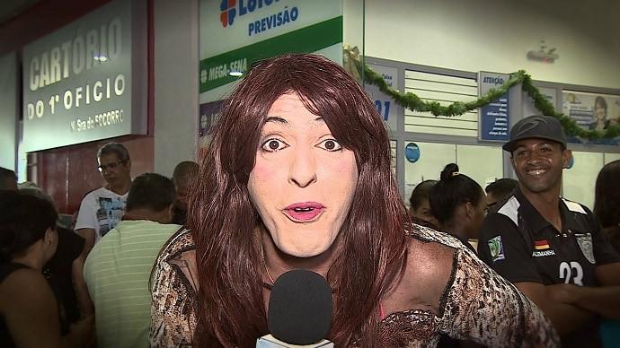 Ritinha ouviu a população sobre a crise financeira (Foto: TV Sergipe)