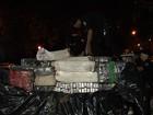 Três toneladas de maconha podem pertencer a detento de Goiás, diz PM