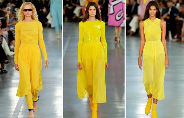 Amarelo: Emilio Pucci (Foto: Reprodução, Getty e Antonio Barros)