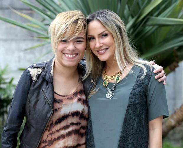 Claudia Leitte e Maria Gadu 620x500 (Foto: Isabella Pinheiro/TV Globo)