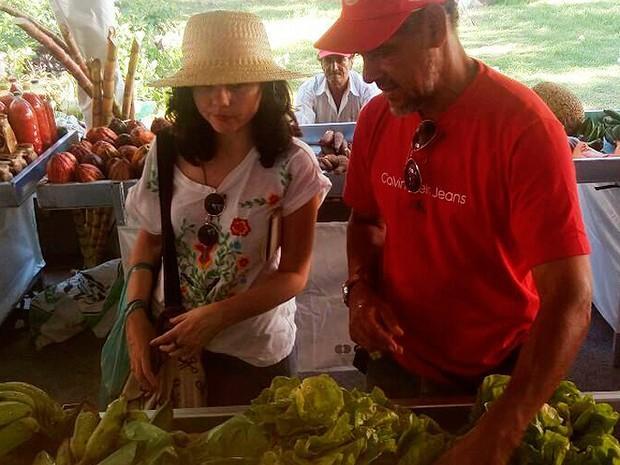 Feira de produtos orgânicoas em Salvador, Bahia (Foto:  Taise Santos/ Divulgação)