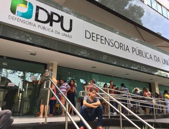 Unidade da Defensoria Pública da União em Pernambuco (Foto: Reprodução)