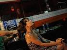 Veja os bastidores do ensaio de Bianca Jahara, nova apresentadora do canal Sexy Hot, para o Paparazzo