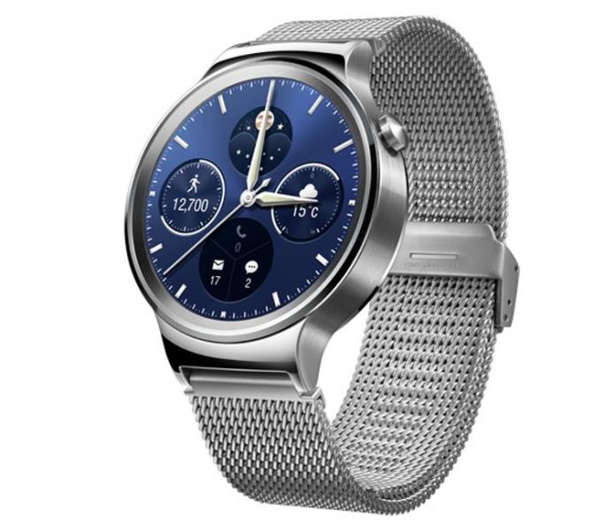 De acordo com a Huawei, relógio tem design inspirado nos clássicos relógios de pulso suíços (Foto: Divulgação/Huawei)