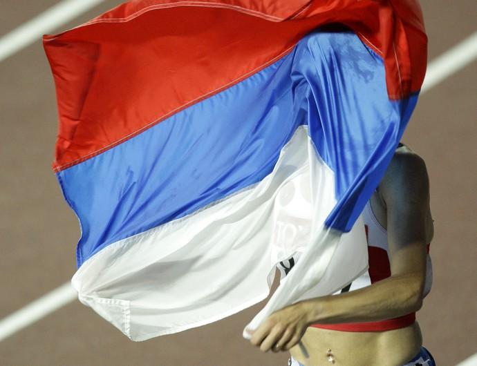 Arquivo Yekaterina Volkova Rússia ouro Londres 2012 3000m com obstáculos (Foto: Mark Baker/AP)