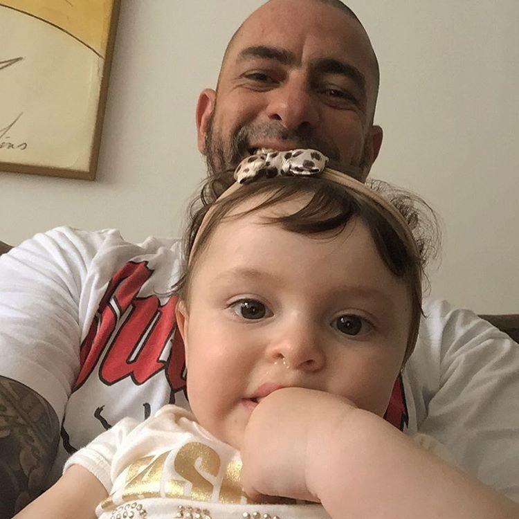 Henrique Fogaça e a filha, Maria Letícia (Foto: Reprodução/Instagram)