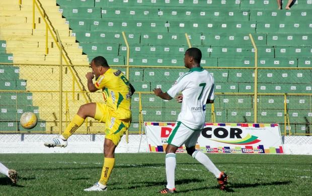 Francana x Mirassol, atacante David Dener (Foto: Vinicius de Paula / Agência Mirassol FC)