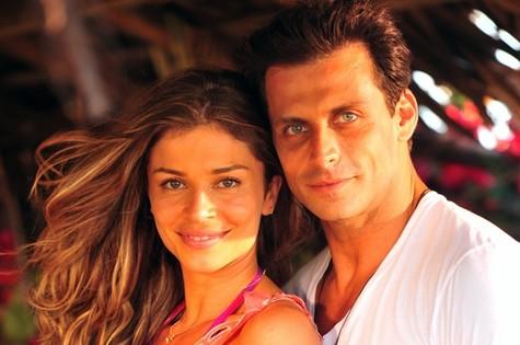Ester (Grazi Massafera) e Cassiano (Henri Castelli) (Foto: TV Globo)