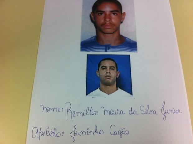 Juninho suspeito de mandar matar adolescentes (Foto: Divulgação/Polícia Civil)