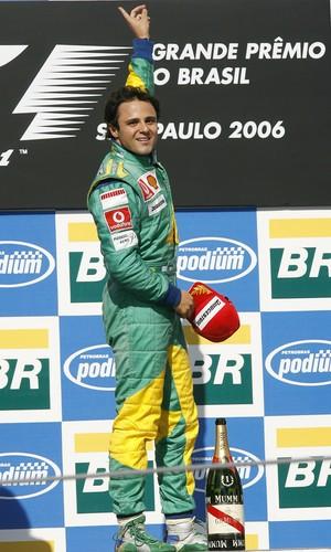 Para Zsolt, vitória de Massa no GP do Brasil de 2006 foi momento marcante (Foto: Getty Images)