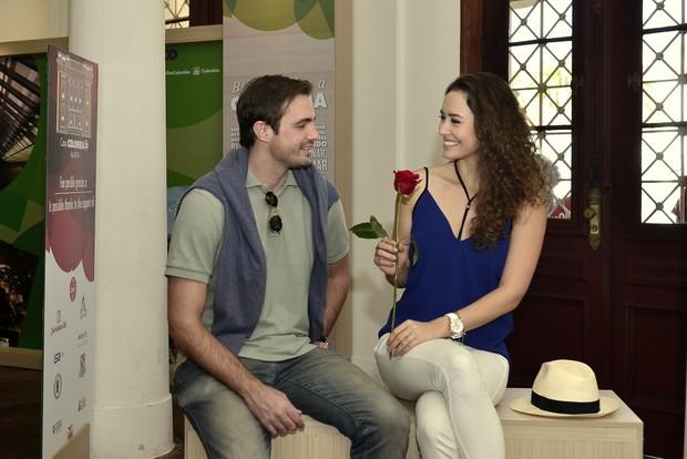Max Fercondini e Amanda Richter (Foto: Roberto Teixeira / Ego)