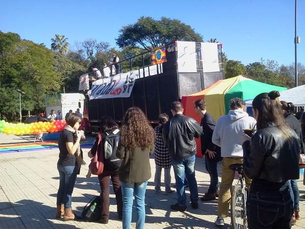 Estatuto da Diversidade Sexual criminaliza a homofobia (Foto: Vanessa Felippe/RBS TV)