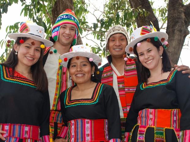 Grupo T'ikay se apresentará na Praça da Bolívia (Foto: Fábio Pellegrini)