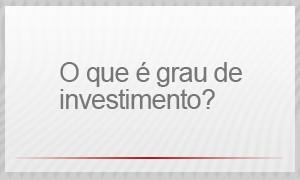 O que é grau de investimento? selo (Foto: G1)
