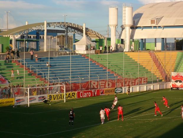 Guarani-MG x América TO pela sexta rodada do Campeonato Mineiro (Foto: Valquíria Souza)
