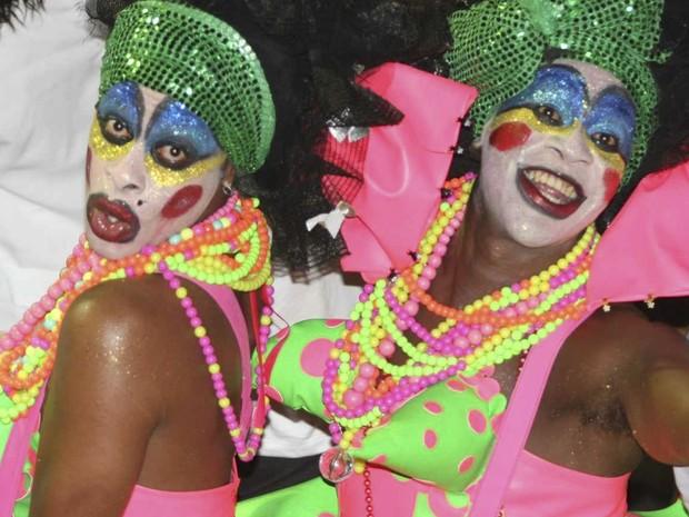 mascarados bahia (Foto: Ronaldo Silva/G1)